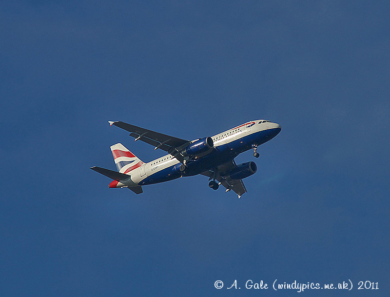 British Airways 737