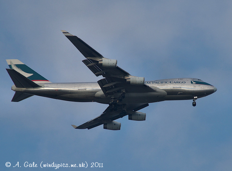Cathay Pacific Cargo Plane